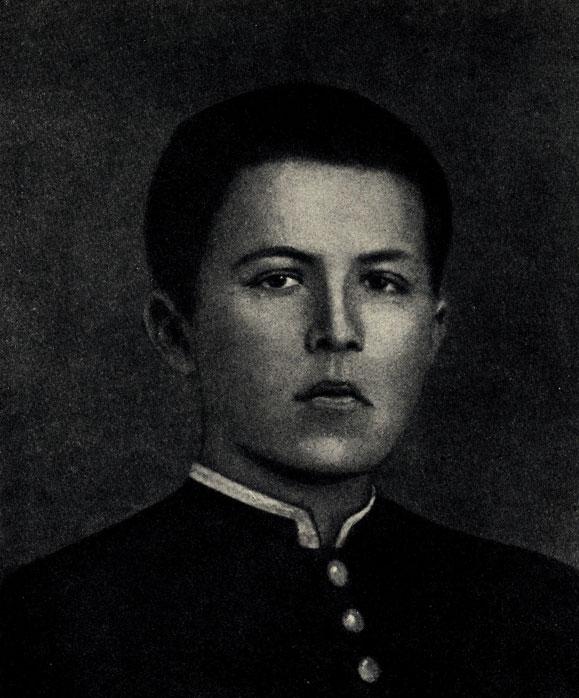 ДЕТСКИЕ ГОДЫ ГИМНАЗИЯ А П Чехов в портретах  А П Чехов гимназист Фотография 1874