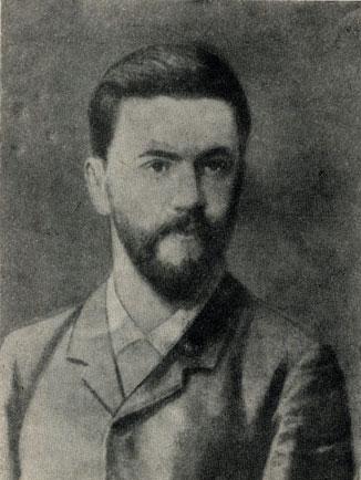 С. П. Успенский, земский врач. Фотография. 1880-е годы